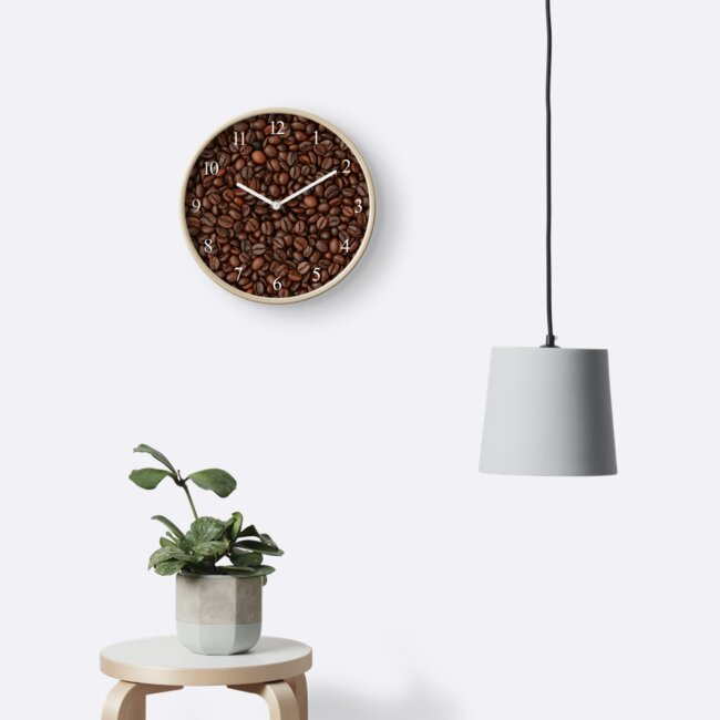 Coffee beans background by Lukasz Szczepanski