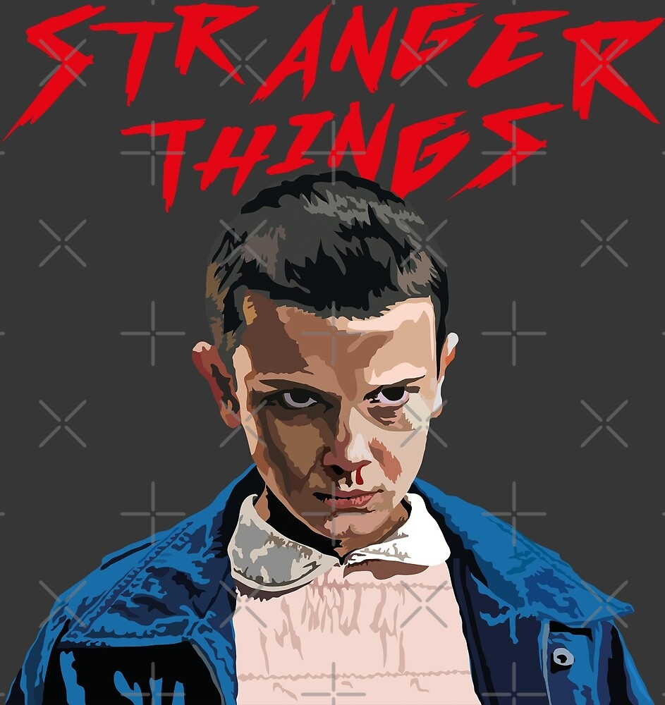 Eleven from 'Str@nger Th!ngs' Vector Graphic by WarmRainStudio
