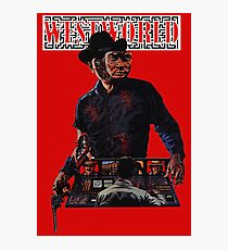 WESTWORLD SCI-FI WESTERN ANDROID  Photographic Print