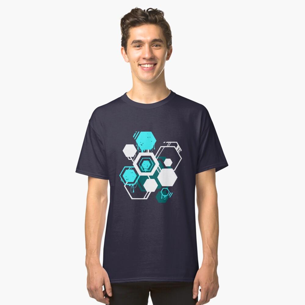 Hexagon Goo Classic T-Shirt Front