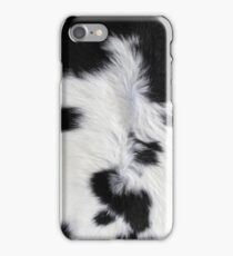 Cowhide Patch iPhone Case/Skin