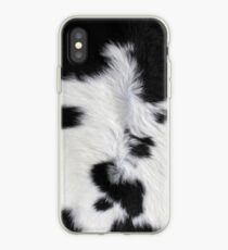 Cowhide Patch iPhone Case
