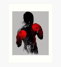 Striker: Boxing, Muay Thai Kickboxing, MMA T-shirt Art Print
