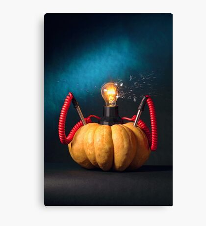 Pumpkin Power Canvas Print