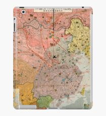 Japanese WWII Propaganda - The Soviet Threat (1937) iPad Case/Skin