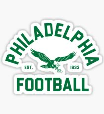 Philadelphia Football Sticker