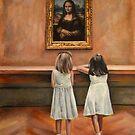 Watching Mona Lisa by escha van den bogerd