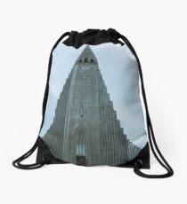 Hallgrimskirkja Drawstring Bag