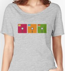 floppy color Women's Relaxed Fit T-Shirt