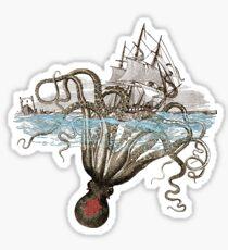 Beware the Kraken! Sticker