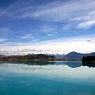 Lake Ruataniwha, New Zealand landscape 2 by John Wallace