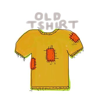Old T-Shirt by PeanutsDesign
