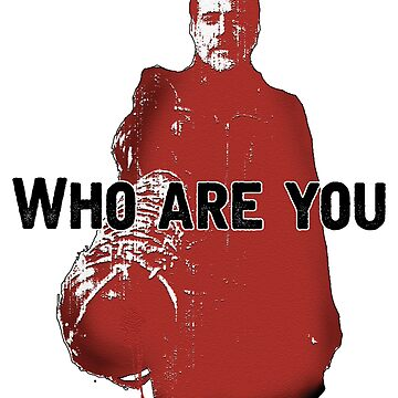 """The Walking Dead- Negan """"Who are you"""" by lukeyy"""