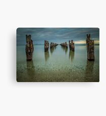 Clifton Springs Jetty Canvas Print