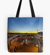 SF 49ners Sunset  Tote Bag
