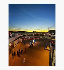 SF 49ners Sunset  Photographic Print
