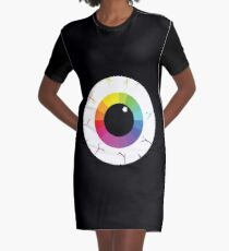 Palette Eye Graphic T-Shirt Dress