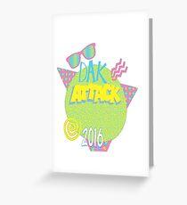 Dak Attack Greeting Card