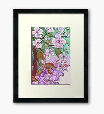 Cherry Blossom Floral Framed Print