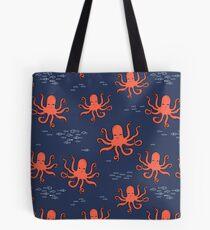 Octopus by Andrea Lauren Tote Bag