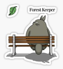 Forest Keeper Sticker