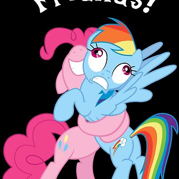 Rainbow Dash and Pinkie Pie by TickleBerryDude