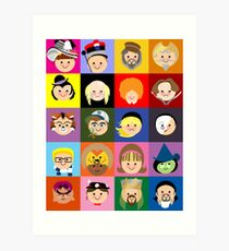 Broadway Cuties Art Print