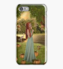 Natathryns pumpkin patch  iPhone Case/Skin