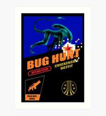 Aliens - Bug Hunt Art Print