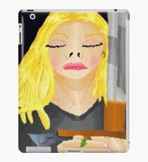 Woman Holding Sword iPad Case/Skin