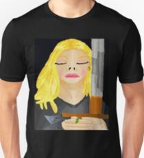Woman Holding Sword Unisex T-Shirt