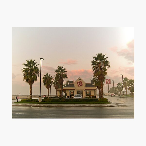 fast food sunrise Photographic Print