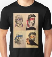 TMNT as Real Masters Unisex T-Shirt
