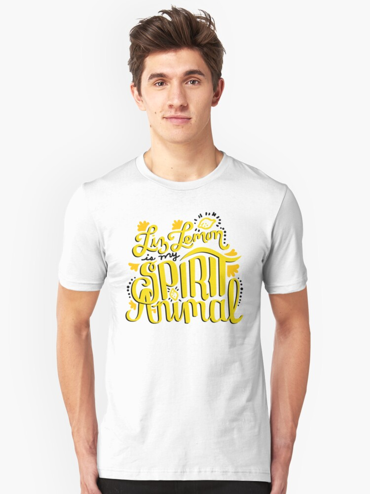 Liz Lemon is my Spirit Animal Unisex T-Shirt Front