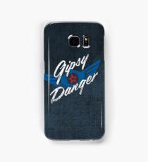 Gipsy Danger - white text Samsung Galaxy Case/Skin