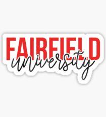 Fairfield University - Style 13 Sticker