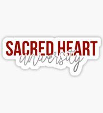 Sacred Heart University - Style 13 Sticker