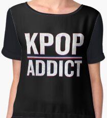 KPOP Addict Korean Pop Music Lover Hangul Chiffon Top