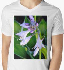 Lavender Bell Flower - k5935 Men's V-Neck T-Shirt