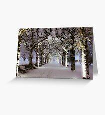 Narnia Corridor Greeting Card