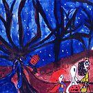 Halloween night by Alberto  DeJesus