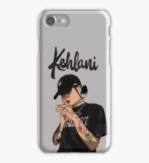 Kehlani(gray) iPhone Case/Skin