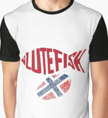 Lutefisk Norway Thumb Graphic T-Shirt