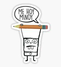 Me Hoy Minoy - Spongebob Sticker