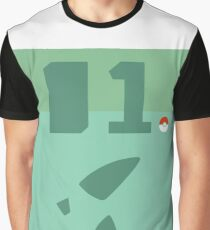 #01 Bulbasaur Graphic T-Shirt