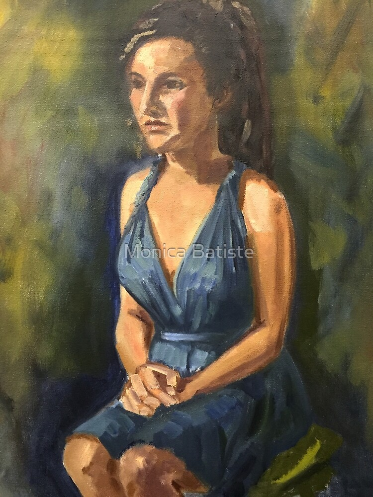 Portrait of Maria by Monica Batiste