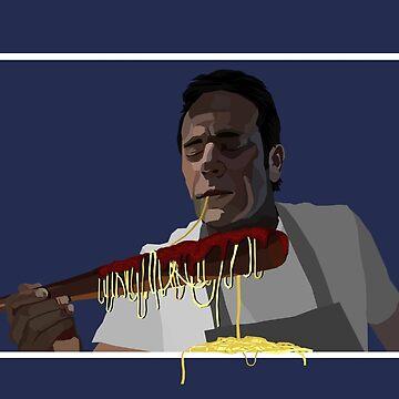 Negan's Spaghetti by gageef