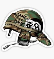 Game Over Man Aliens Born to Kill Sticker