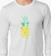 Smelling Pineapples Long Sleeve T-Shirt