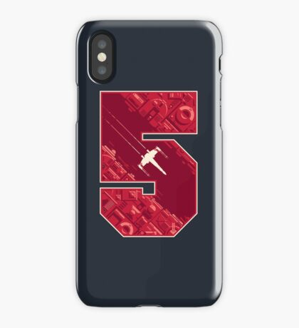 Red Five iPhone Case